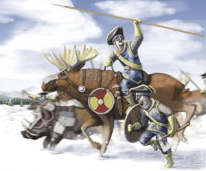 swedish moose cavalry